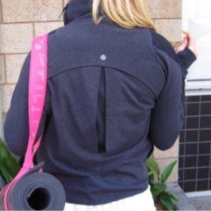 Lululemon Sway Charcoal Grey Jacket Size 4